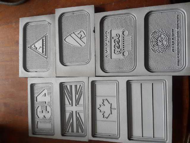 moulding cetakan label karet