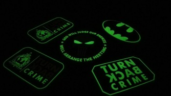 patch rubber glow in the dark